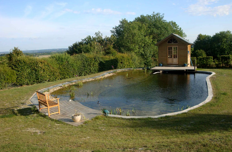 Global impacts for Pond swimming pool